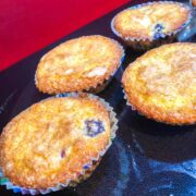 failed blueberry muffins