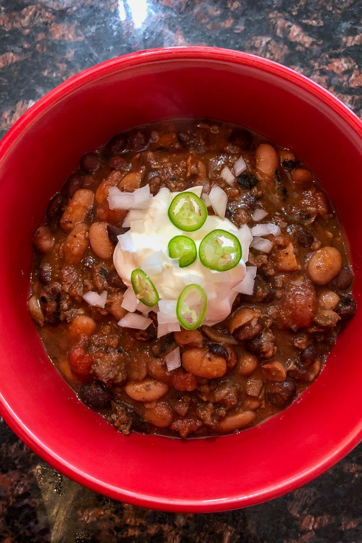 Pinterest Chili Beans